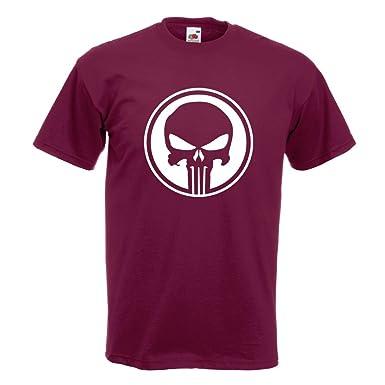 KIWISTAR - Punisher USA - Tank Totenkopf T-Shirt in 15 verschiedenen Farben  - Herren
