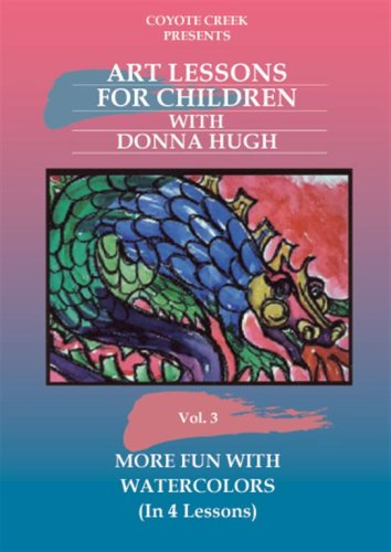 Water Lesson - More Fun With Watercolors (Art Lessons for Children, Vol. 3)