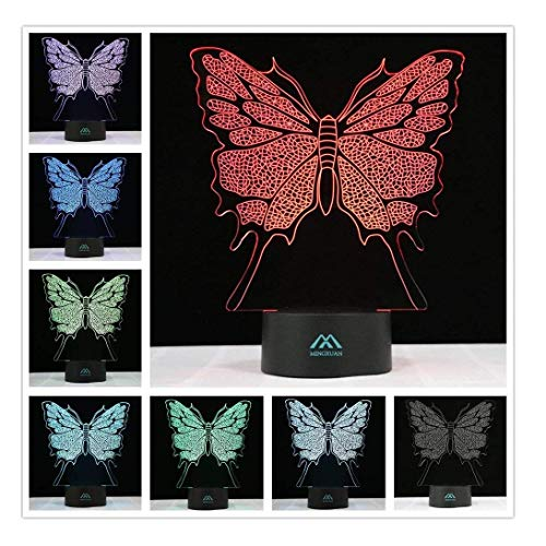 Led 3D Butterfly Night Lights in US - 7
