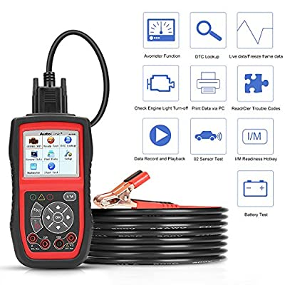 Autel AL539b Obd2 Code Reader obd2 Scanner Battery Tester from Autel