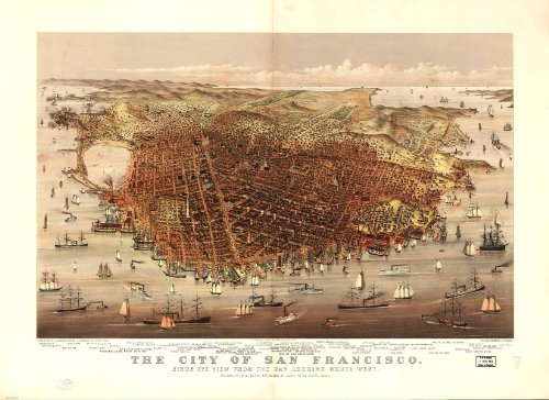 Historic Lithographs of San Francisco (San Francisco Lithograph)