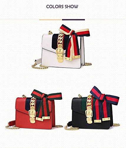 tout à le sac classique de sac de à de à rubans larges sac bandoulière bandoulière Sacs de fourre sac main Black à concepteur de pour main qZYnSx7