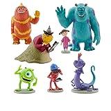 Disney Monsters Inc. Figure Play Set 7 Piece PVC Cake Topper