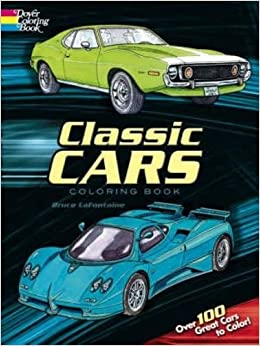 classic cars coloring book - Cars Coloring Book