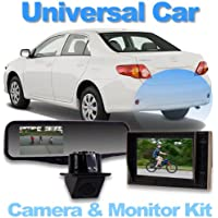 Universal CarRear Camera System with 4.3 Video Mirror