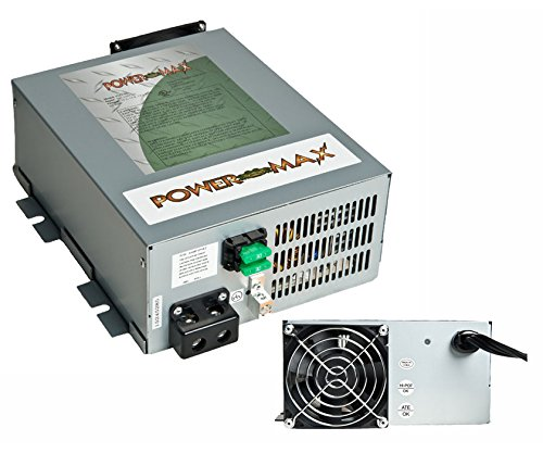 PowerMax PM3-55 12 VOLT DC 55 AMP Converter with 3 STAGE Automatic Smart Battery Charger . . . (156545)