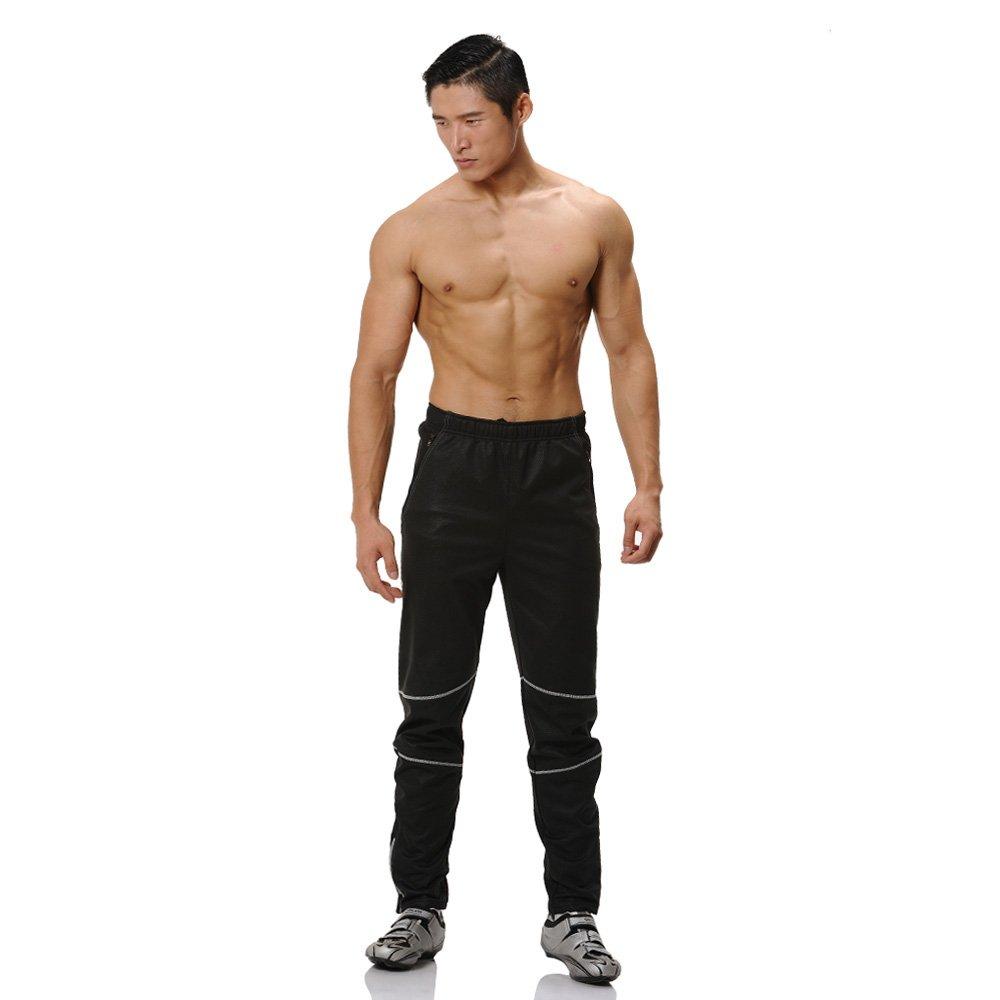 Z Adventurer Mens Black Knight Thermal Cycling Pants