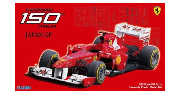 Fujimi model 1//20 Grand Prix series No.52 Ferrari 150 ° Italy Japan GP