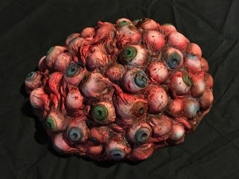 Pile Of Bloody Eye Balls THE WALKING DEAD | Halloween Prop - Haunted House Decoration - BACK FROM THE (Halloween Science Lab Props)