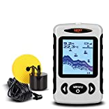 LUCKY FF718 Wired Sonar Sensor Fish Finder 100M/328ft 2.2inch LCD LED Back lighting Fish Alarm Fish Finders And Other Electronics LUCKY
