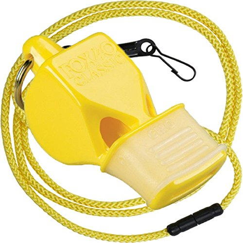 Fox 40 Classic CMG Whistle with Breakaway Lanyard