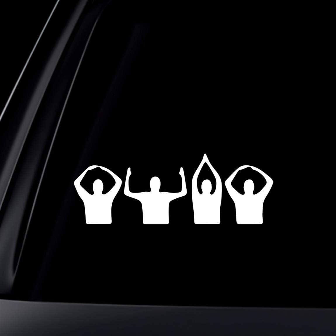 World Design Ohio Buckeyes Football Silhouette Decal Decal 2014 National Champions//Vinyl Window Sticker