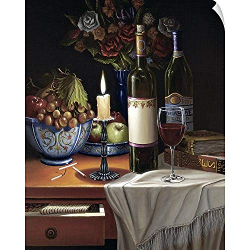 (CANVAS ON DEMAND Toast to You Wall Peel Art Print, 29