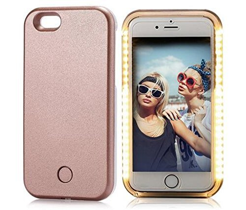 sports shoes 40377 baba1 (5.5 inch) iPhone 6/6S Plus Case, Bekayie New Illuminated LED Light Up  Luminous Selfie Phone Case Back Cover for Apple iPhone 6/6S Plus - only one  ...