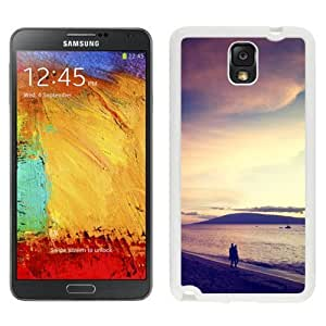 NEW Custom Designed For SamSung Galaxy S4 Mini Case Cover Phone With Walk At The Beach Sunset_White Phone