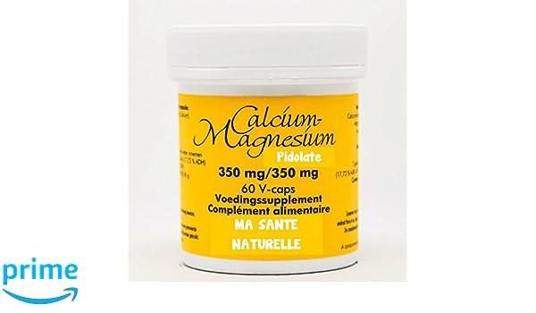 pidolate Calcio 350 mg - Magnesio 350 mg - 60 Cápsulas vegetales: Amazon.es: Salud y cuidado personal