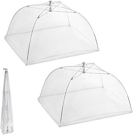 2/x pieghevole di cibo torta BBQ Covers pieghevole mesh ombrello