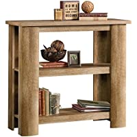 Sauder Boone Mountain 2 Shelf Bookcase in Craftsman Oak