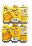 Trader Joe's Sun dried Apricots 2 pack