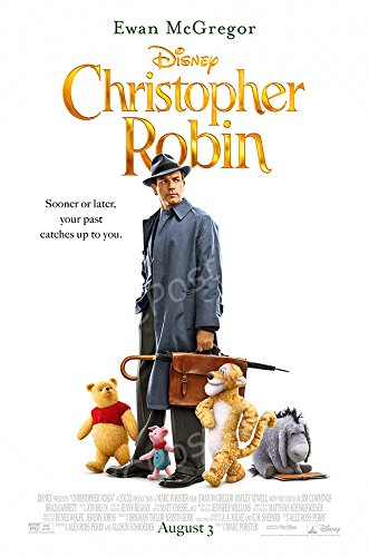 MCPosters Disney Classic Christopher Robin - Ewan McGregor GLOSSY FINISH Movie Poster