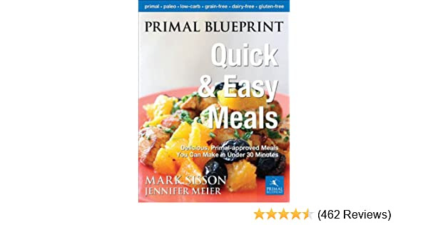 Primal blueprint quick and easy meals delicious primal approved primal blueprint quick and easy meals delicious primal approved meals you can make in under 30 minutes kindle edition by mark sisson malvernweather Choice Image