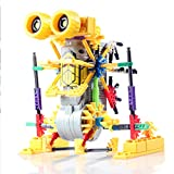 [ Motorial Alien Robot ] LOZ Robotic Building Set Block Toy ,Battery Motor Operated,3D Puzzle Design Alien Primate Robot Figure for kids and adults , Sturdy Enough ,122 parts(Kangaroo)