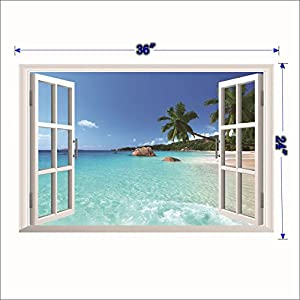 51HnMymlmCL._SS300_ Beach Wall Decals and Coastal Wall Decals