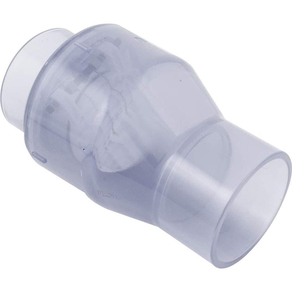 Magic Plastics 0821-30C Check Valve Smart Check 3'' S Clear by Magic Plastics