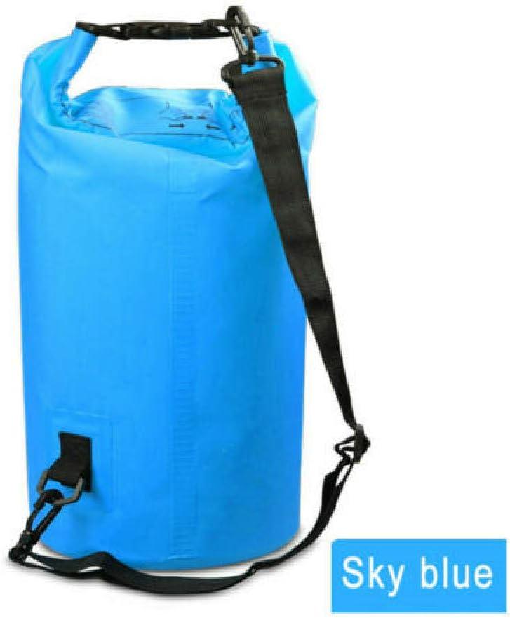 FSD-MJ 2L-30L PVC Waterproof Dry Bag Sack Ocean Pack Floating Boating Kayaking Camping, Color Azul, tamaño 2L: Amazon.es: Deportes y aire libre