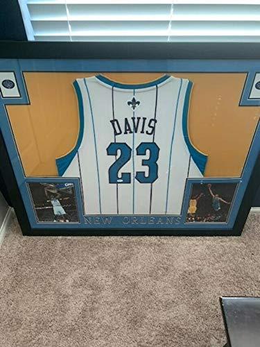 official photos 79daf 1af66 Anthony Davis Autographed Signed New Orleans Hornets Jersey ...