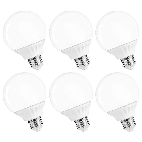 Exceptionnel LOHAS LED Vanity Light Globe Bulb, 40W Equivalent LED G25 Bulbs Daylight  5000k, Bathroom
