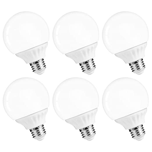 Lohas Led Vanity Light Globe Bulb 40w Equivalent Led G25 Bulbs