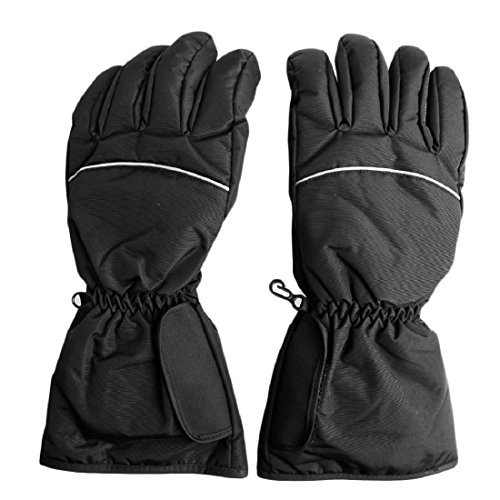 CHBC Rechargeable Electric Battery Heated Gloves for Men and Women,Outdoor Waterproof Hand Warmer Glove Liners for Climbing Hiking Cycling,Winter Must Have Thermal Heated Gloves - Battery Heated Glove Liners