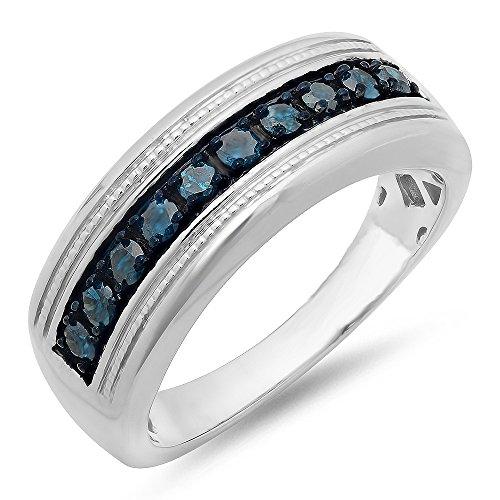 0.65 Ct Diamond Band - 4