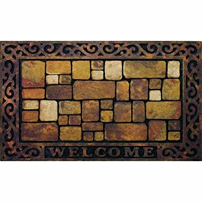 Masterpiece Aberdeen Welcome Door Mat, 18-Inch by 30-Inch
