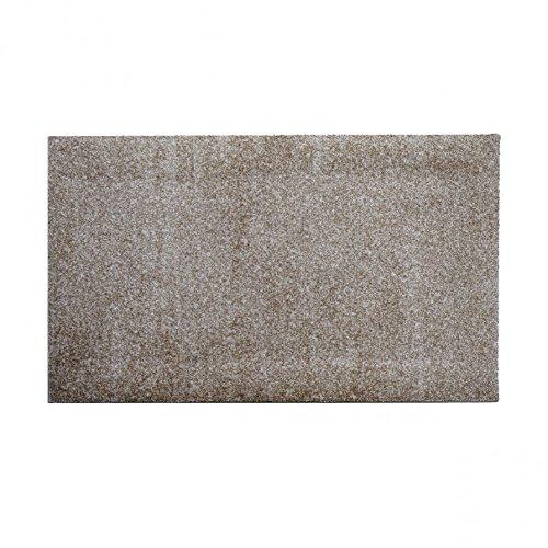 Decor pure Sauberlaufmatte 120 x 70 cm - light sepia