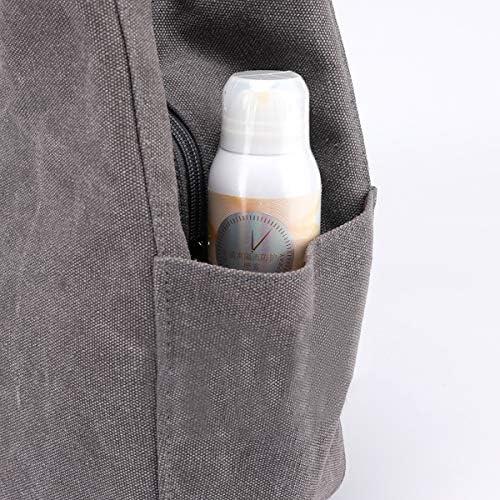Hiigoo Women's Canvas Totes Bag Shoulder Bag Handbags Messenger Bag Big Shopping Bags