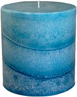 product image for Wicks N More Caribbean Blue Scented Candles (3x3)