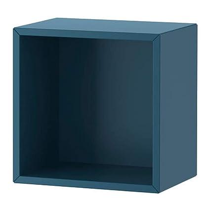 Amazon Com Ikea Eket Cabinet Dark Blue 003 345 55 Size 13 3 4x9 7