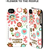 Birdie White Flower Power Iphone 4 Capsu