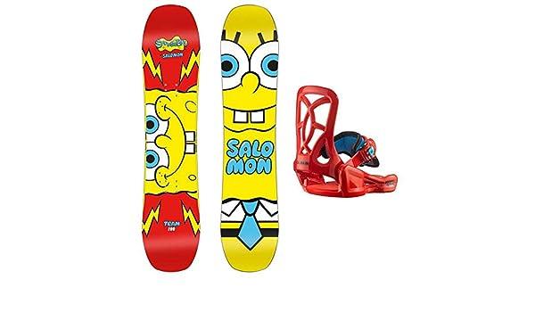Salomon Snowboard - Pack Team Sponge Bob and Friends, Color 0 ...
