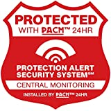 14 Static Cling Home Security System Alarm Decals Stickers for Windows
