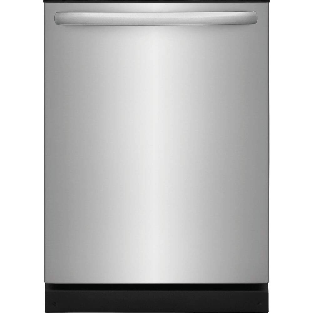 Frigidaire FFID2426TS 24in Built In Fully Integrated Dishwasher with 4 Wash Cycles, in Stainless Steel (Renewed)