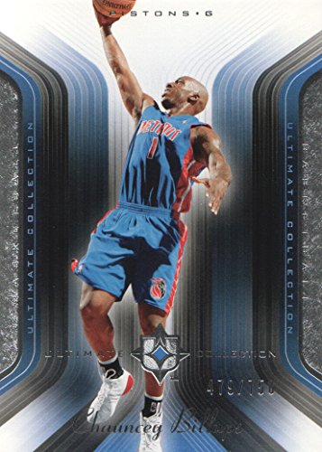 2004-05 Ultimate Collection #30 Chauncey Billups /750