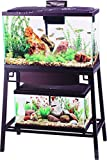 Aqueon Forge Metal Aquarium Stand, 30 by 12-Inch, Black Larger Image