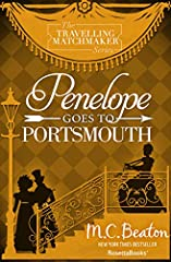 """A matchmaker contends with a troublesome couple—and a footman in danger in this novel by """"a romance writer who deftly blends humor and adventure"""" (Booklist).  Kind-hearted Miss Hannah Pym, the traveling matchmaker, is off to Portsmouth in th..."""