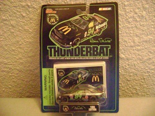 Racing Champions Bill Elliott McDonalds McDonalds Batman Forever Thunderbat by Nascar (Bill Champions Racing)