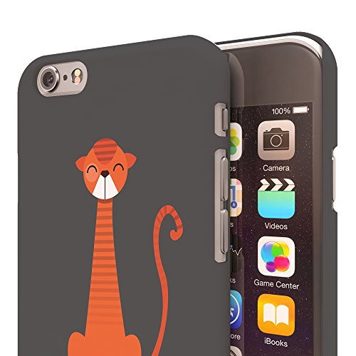 Koveru Back Cover Case for Apple iPhone 6 - Thinking Cat