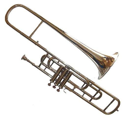 3-Valve Bb Tenor Trombone for Trumpet Crossover Players with Designer Hardcase