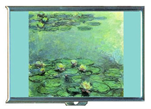 Claude Monet Nympheas Water Lilies Stainless Steel ID or Cigarettes Case (King (Nympheas Water Lilies)